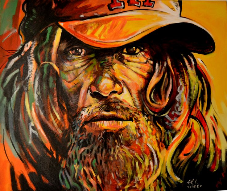 Acrylic on canvas, 100x120cm ,  by Cuban artist FERNANDO TOLEDO. www.montecatini.cl