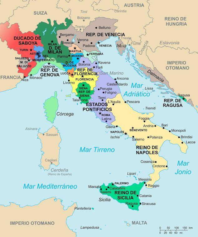 Algargos, Arte e Historia: 10.1.1. Renac. arquitectura Italia