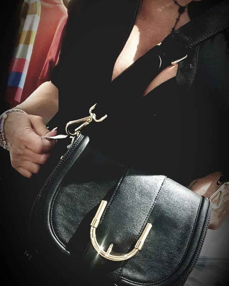 Photo of Bag with shoulder strap Elisabetta Franchi • • • #bags #bag #purs …- Bor…