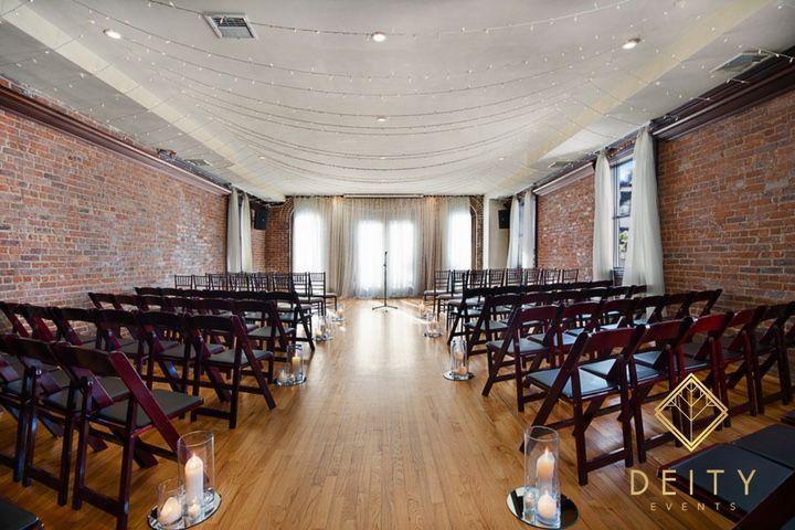 Deity Brooklyn Wedding Venue The Loft For The Ceremony Brooklyn Wedding Venues Deities Wedding Venues