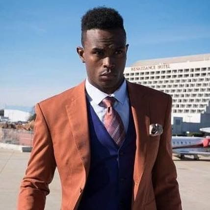 Julio Jones out and about looking good.