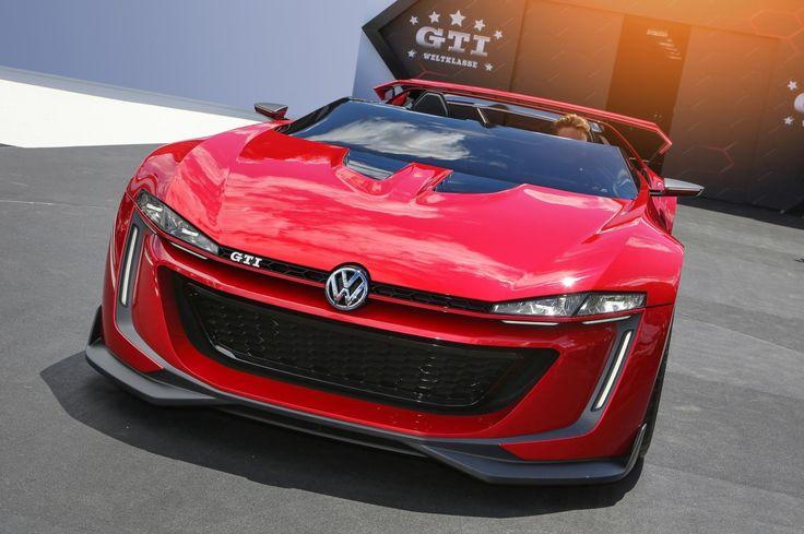 Red Volkswagen Golf GTI Vision Gran Turismo