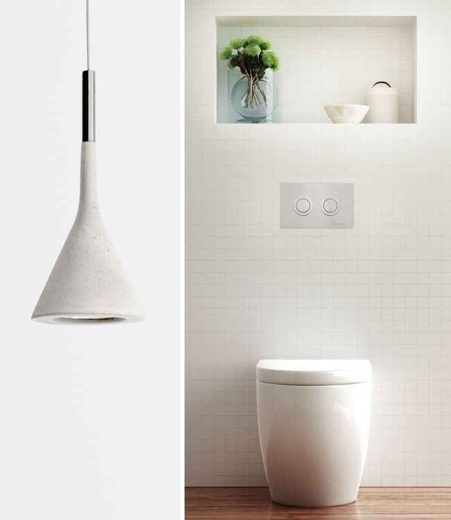 Hidden or inwall cisterns are a fantastic way to save room in limited spaces.