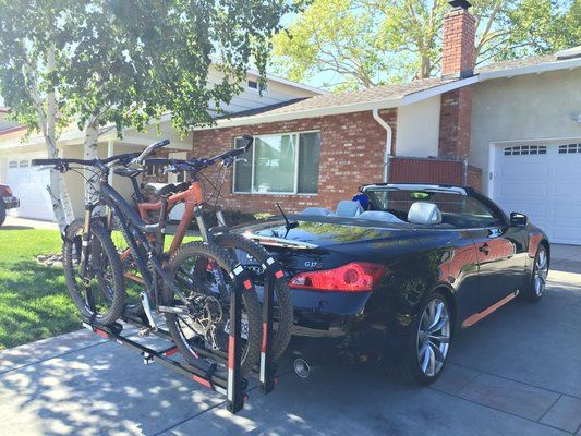 Trailer hitch bike rack - MyG37