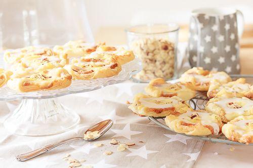 Dänisches Rezept – Spandauer mit Vanillecreme und Blätterteig