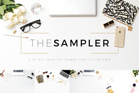 The Sampler Header Image Bundle by Design Love Shop on Creative Market: