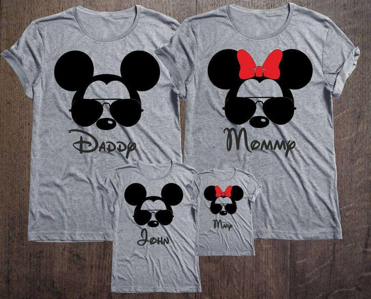 Disney Family Shirts Disney Shirts Personalized Shirt