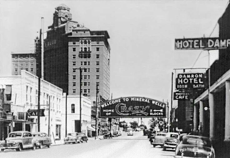 Mineral Wells Texas Baker Hotel