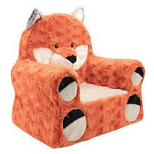 Animal Adventure Sweet Seats Plush Chair - Fox