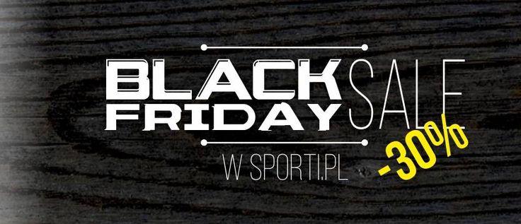 Black Friday w Sporti.pl! Atrakcyjne ceny!  Zapraszamy! :) #zakupy #sale #blackfriday