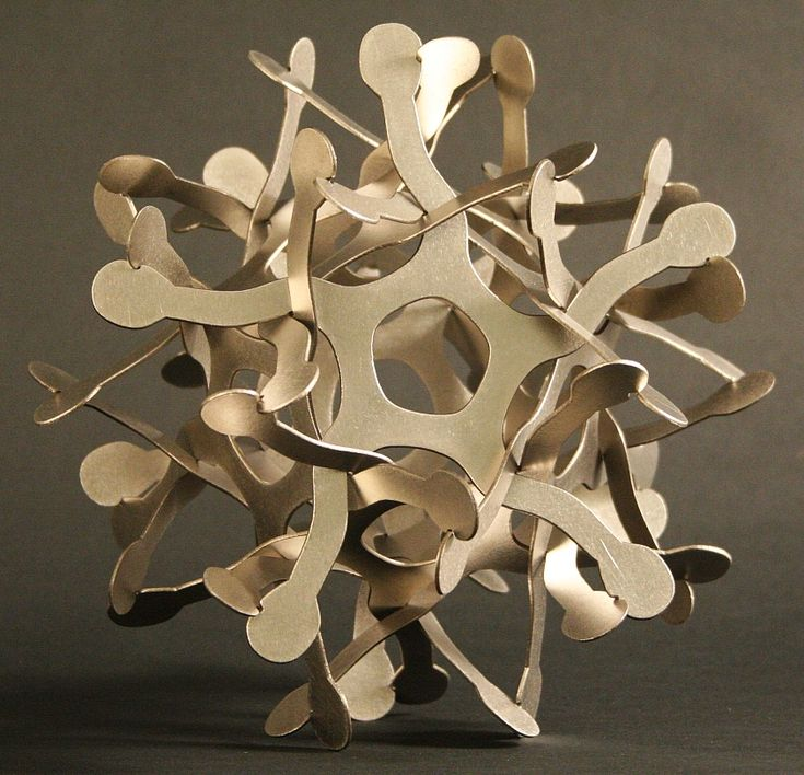 Puzzles by George W. Hart  #papercut #cardboard #origami #orgamipuzzles #sculpture #artinspiration http://www.georgehart.com/puzzles/index.html