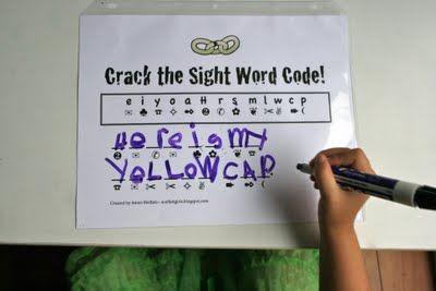 crack the code-use dry eraseIdeas, Moffatt Girls, Girls Generation, Auguste 2011, Schools Stuff, Teaching 1St, Codes Us Dry, Dry Erase, 1St Grade