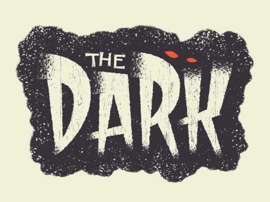 I love this logotype, it's retro and fun. The eyes really help it give a spooky feeling but the unfinished edges make it unique from another vintage text.