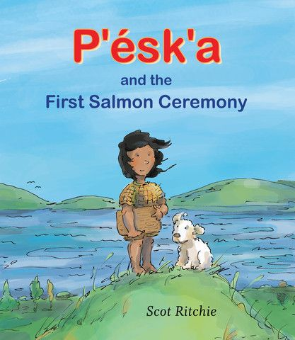 It's the day of the first salmon ceremony, and P'ésk'a is excited to celebrate. His community, the Sts'ailes people, give thanks to the river and the salmon it brings by commemorating the first salmon of the season.  Framed as an exploration of what life was like one thousand years ago, P'ésk'a and the First Salmon Ceremony describes the customs of the Sts'ailes people, an indigenous group who have lived on the Harrison River in British Columbia for the last 10,000 years. Includes an…