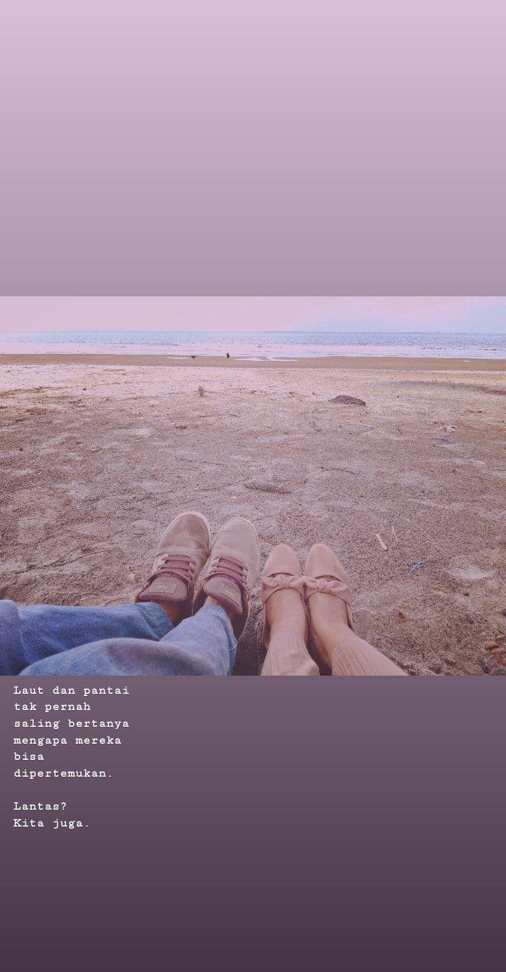 Quote Pantai Pantai Kutipan Buku Instagram