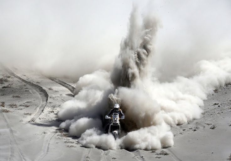 Que foto del Dakar 2013