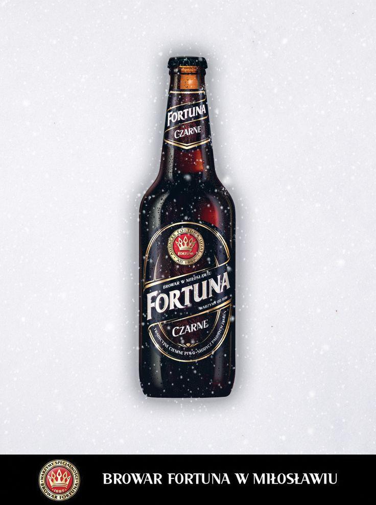 Śnieg już prószy, a więc... Fortuna - To jasne jak Czarne na białym!