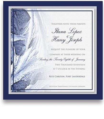 275 Square Wedding Invitations - Snowflake Frost Amor by WeddingPaperMasters.com. $687.50. Now you can have it all! We have created, at incredible prices & outstanding quality, more than 300 gorgeous collections consisting of over 6000 beautiful pieces that are perfectly coordinated together to capture your vision without compromise. No more mixing and matching or having to compromise your look. We can provide you with one piece or an entire collection in a one ...