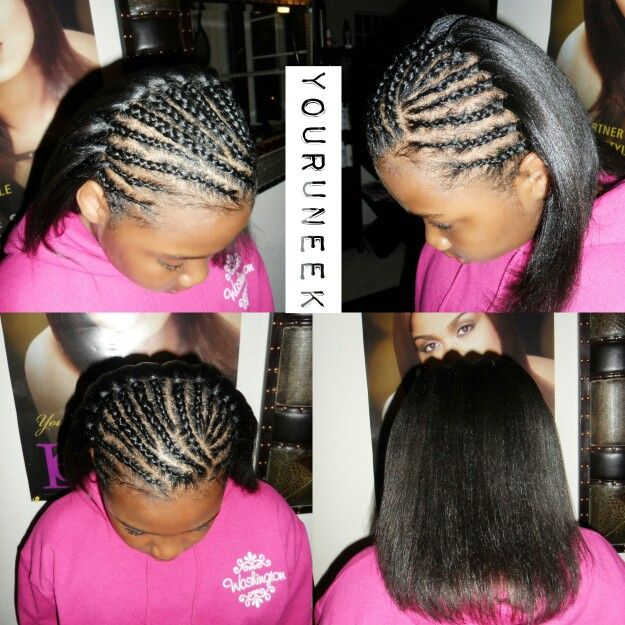 how to style my relaxed hair 32 best healthy hairstyles while a relaxer images 4825