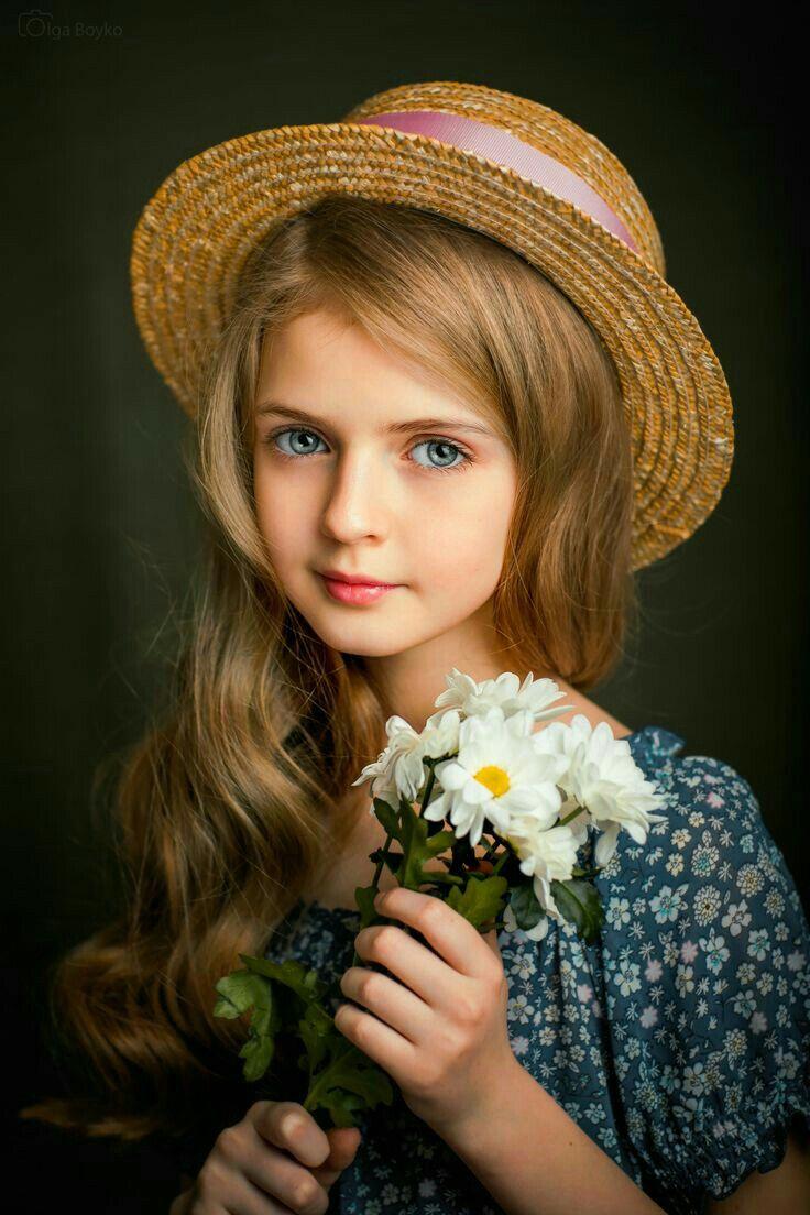 Картинка девочка портрет