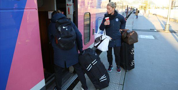 Amandine Henry || PSG camp (12.27.2016)