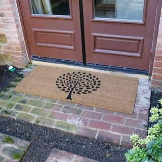 Rubber-Cal Modern Landscape Contemporary Door Mat (24 x 57) | Overstock.com Shopping - The Best Deals on Door Mats