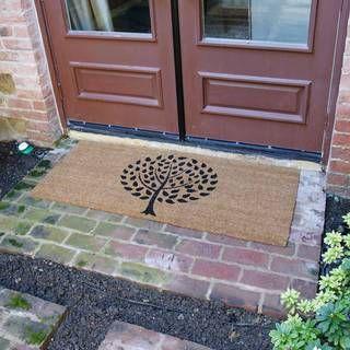 Rubber-Cal Modern Landscape Contemporary Door Mat (24 x 57) | Overstock.com Shopping - The Best Deals on Door Mats