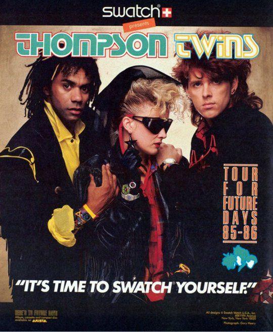 Thomson Twins / Swatch