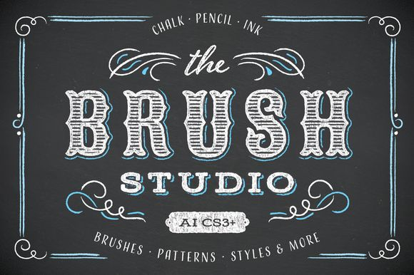 Check out The Brush Studio by Ornaments of Grace on Creative Market
