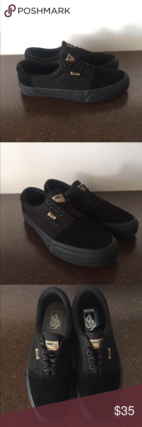 Brand New Pro Era Vans Never before worn all black Pro Era Vans redesigned by Geoff Rowley. Shoes have different colored Vans insoles. Perfect condition! Vans Shoes Sneakers