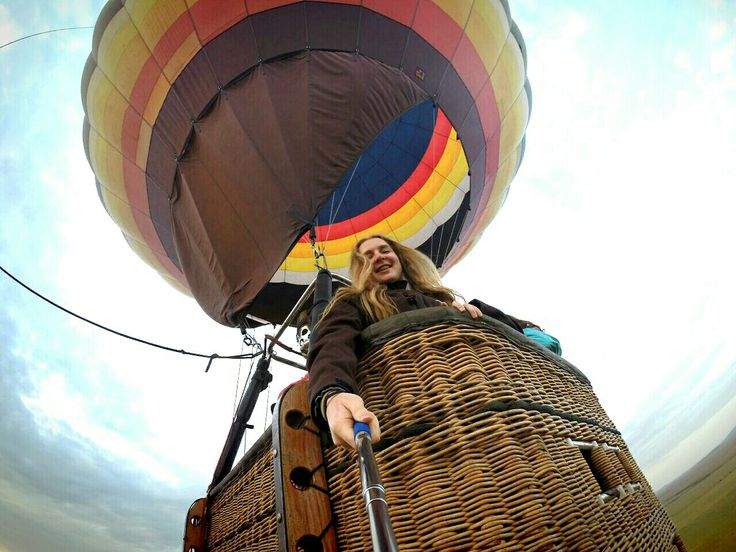 Hot Air Balloon Africa GoPro