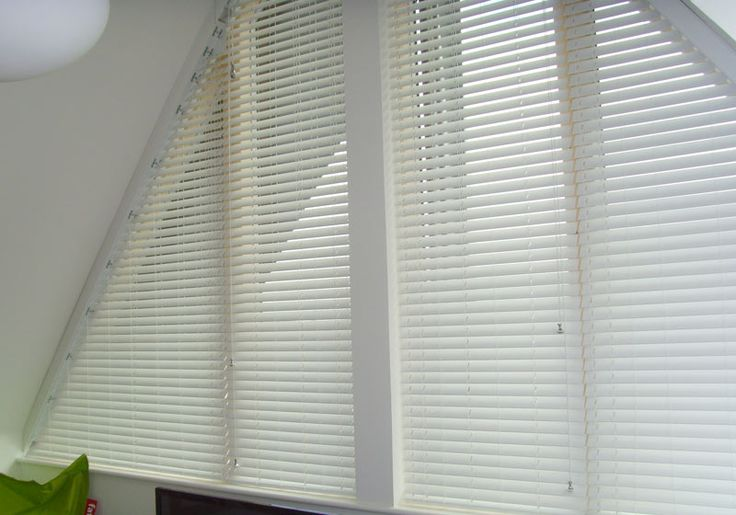Avanti Shaped Blind and Shutter Installations | Triangle Shaped Blinds Cambridge