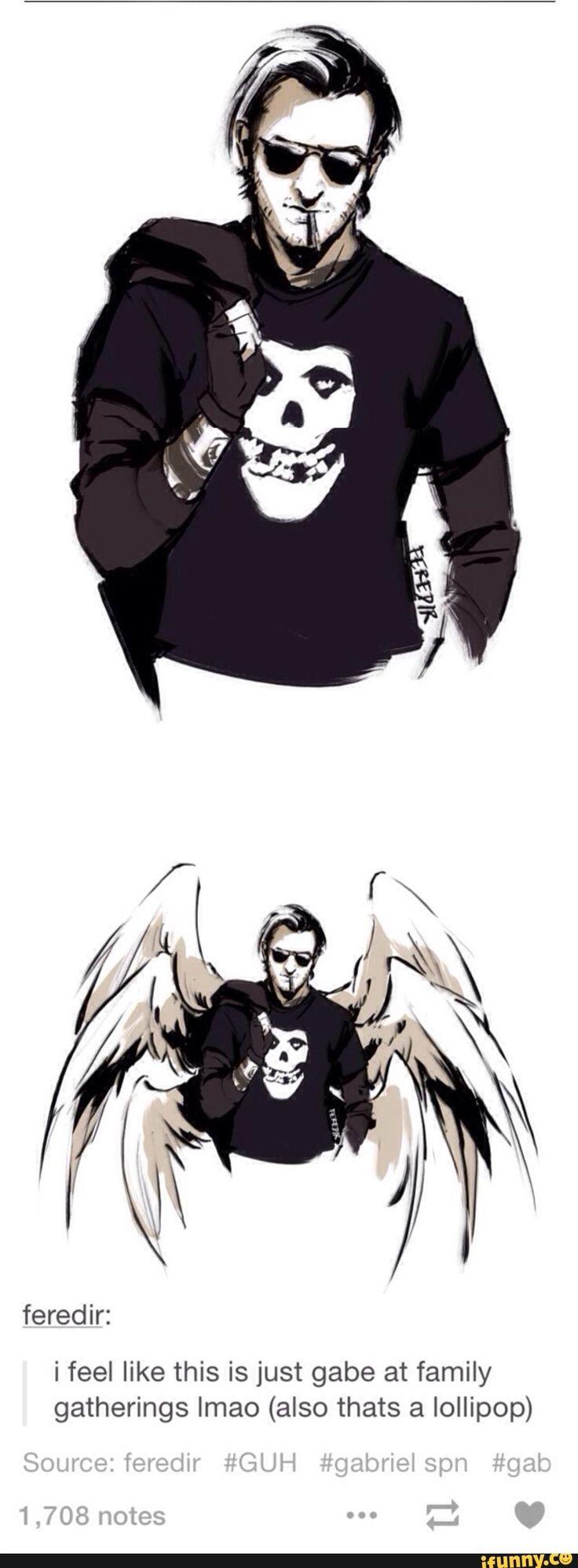 gabriel, supernatural, godsquad, teamfreewill, angels