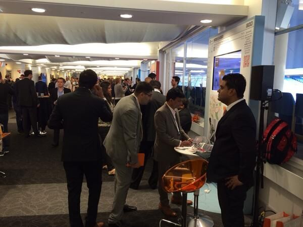Kenscio Delegates at Teradata Connect 2014 #datadriven #marketing #cloud #marketing event at London www.kenscio.com