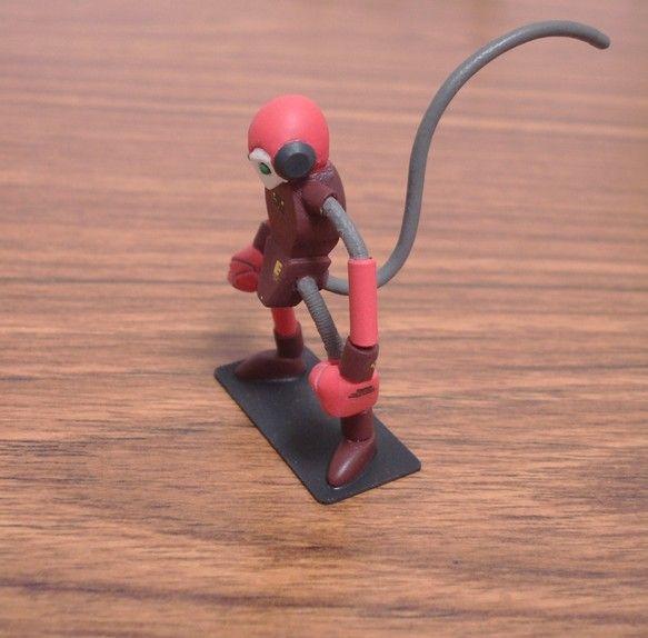 ご覧頂き有難うございます。 ・リスザルをモチーフにデザインしたオリジナルロボットの模型です。 ・素材 頭部、胴体、拳、足首:ポリパテ 脛、下腕:プラパイプ 上...|ハンドメイド、手作り、手仕事品の通販・販売・購入ならCreema。