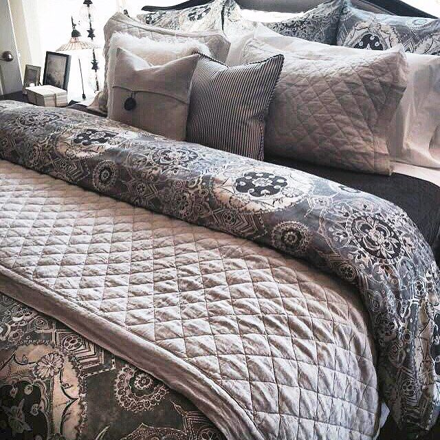 This New Jacquelyn Bedding Looks So Good Freshly Made
