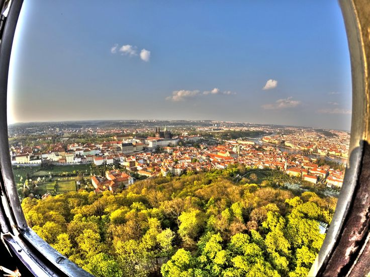 HDR photo from Petrin lookout tower