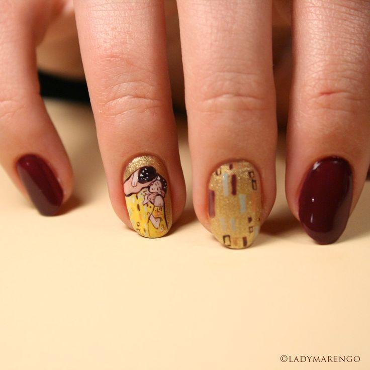 #thekiss #klimpt  #поцелуй #климт  #geeknails #ladymarengo #шеллак #гельлак #нейларт #ногти #маникюр #дизайнногтей #nailart #naildesign #nails