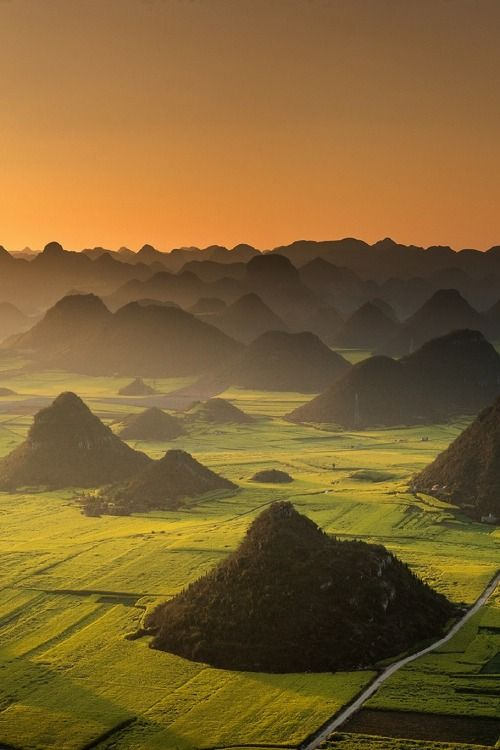 Luoping, China by Nutthavood Punpeng