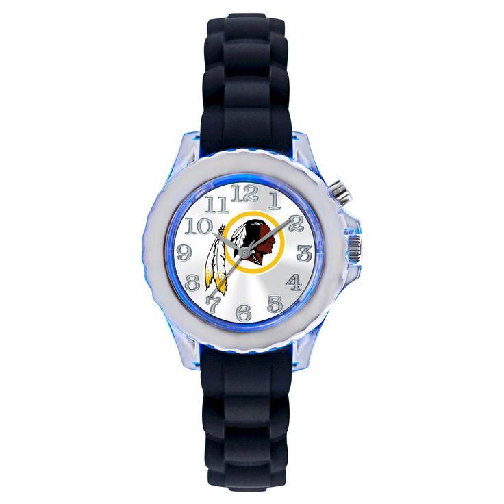 Men's NFL Game Time Washington Redskins Flash Series Watch - Black