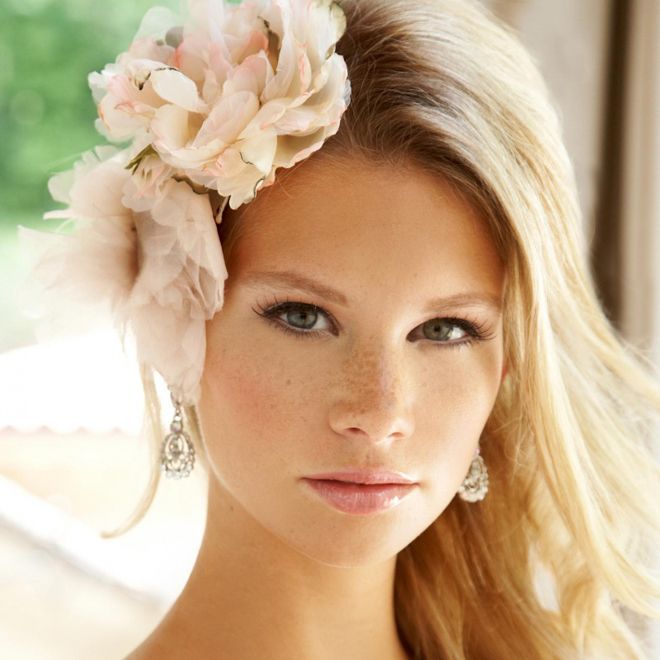 Flowers for beach bride - Acconciatura sposa matrimonio in spiaggia