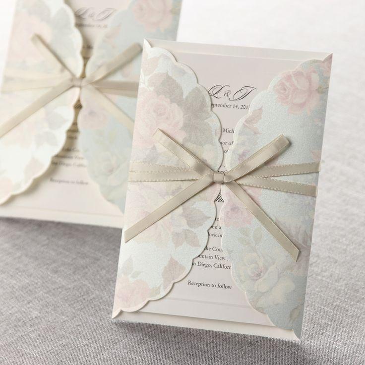 Http://www.howtoplanyourownweddingonabudget.com/weddinginvitationsandannouncements.php  Has Some Tips · Garden Wedding InvitationsWedding ...
