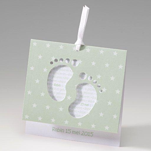 Geboortekaartje - Voetjes :: Belarto www.belarto.be/geboortekaartjes