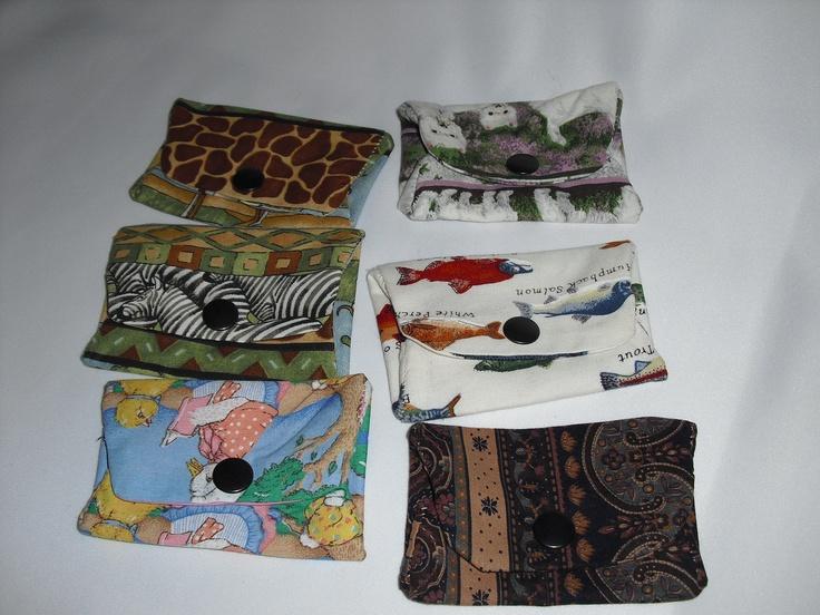 Cloth card wallets