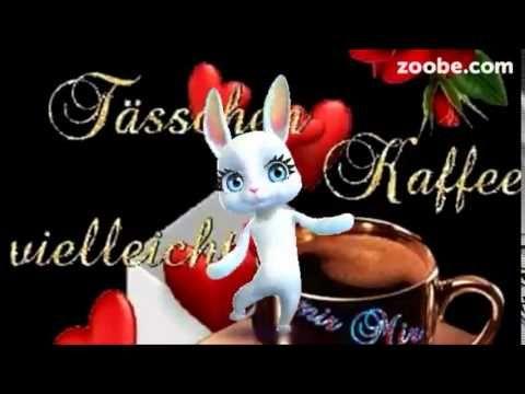 Guten Morgen - hab Kaffee gemacht, komm gut in den Tag ;) Zoobe, Animation - YouTube