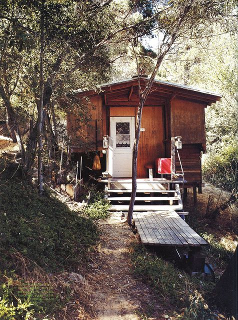 by Old Chum, via Flickr #shed #shack #studio                                                                                 by        Old Chum      on        Flickr: Tiny Cabin, Small Porches, Tiny House, Little Cabin, Cabin Porn, Rustic Cabin, Mountain Cabin, Woods Cabin, Cabin Fever