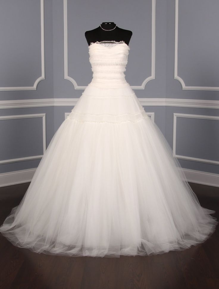 Vera wang patricia 121915 wedding dress discount for Vera wang princess ball gown wedding dress