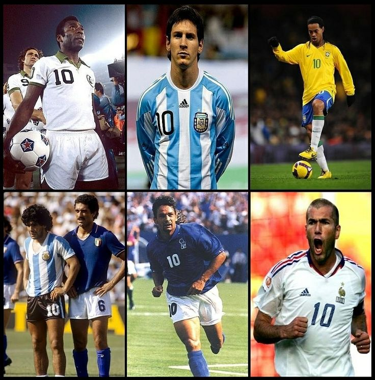 World Cup SuperStars (Pele, Lionel Messi, Ronaldinho, Diego Maradona, Zinedine Zidane) - #WorldCup #SoccerLegend #FutbolLegend #FootballLegend #UEFA #FIFA