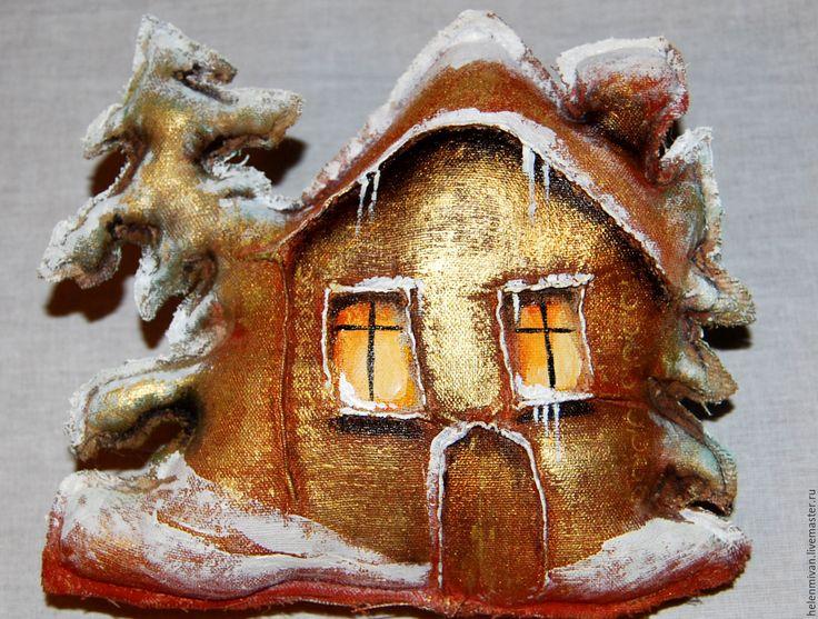 Купить Зима, снег, а дома тепло и уютно. Кофейный домик. - кофейный домик