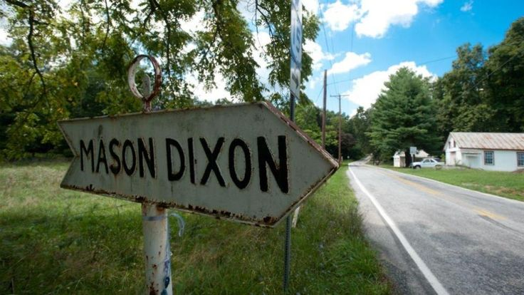 The Mason-Dixon Line is 250 years old - but who were the two British men who created one of America's most famous land borders?